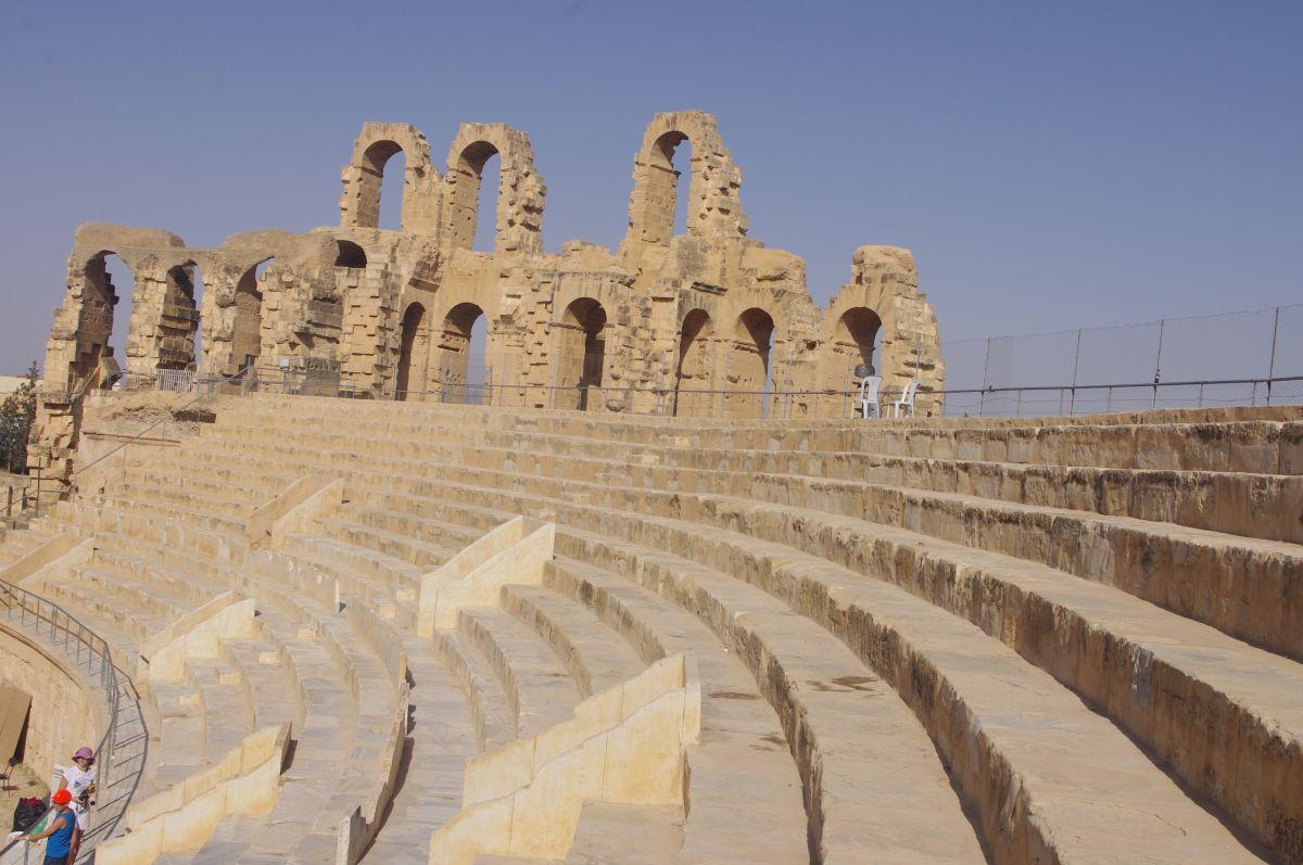 památky v Tunisku