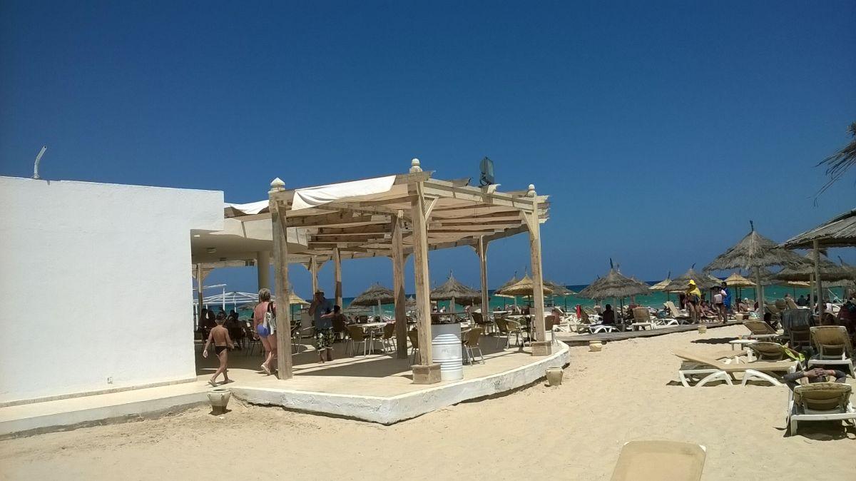 bar u moře Marhaba Resort
